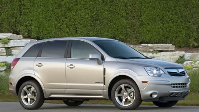 2008 Saturn Vue Green Line Hits The Street At 24 795 And 32 Mpg Hwy
