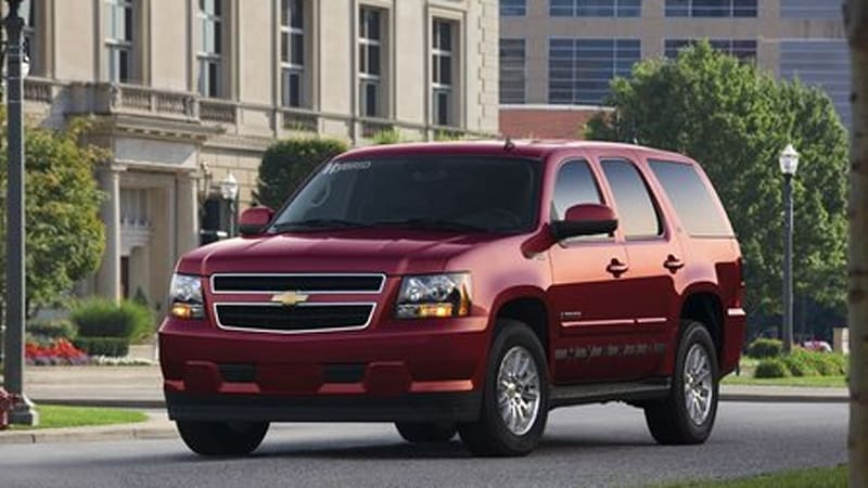 Gm Finally Announces Pricing For Two Mode Hybrid Suvs 50 490 53 775
