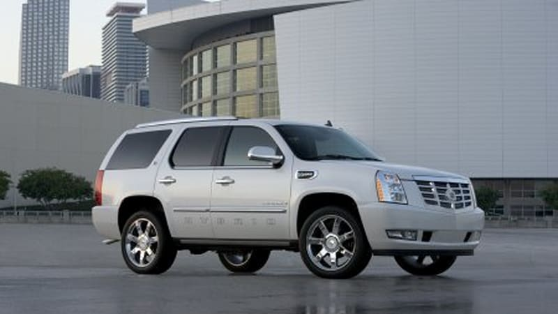 La 2007 Preview Cadillac Escalade Hybrid All The Details