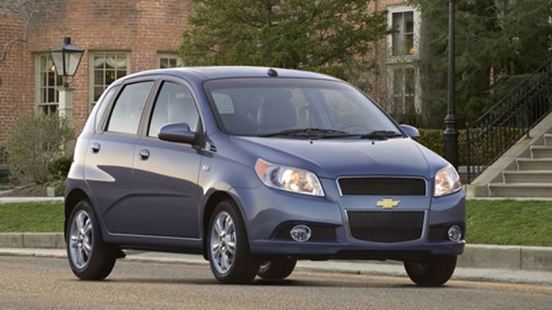 la 2007 chevrolet aveo 5 questionable aesthetics come to. Black Bedroom Furniture Sets. Home Design Ideas