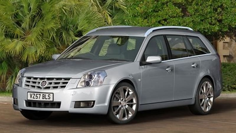 Cadillac launches the BLS wagon in the UK with diesel and flex-fuel