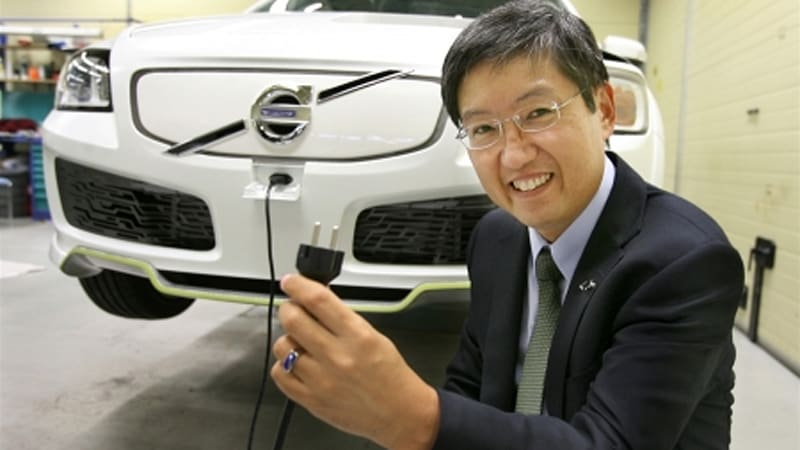 In An Interview Ichiro Sugioka Project Leader Of Volvo S Recharge Electric Car Concept Says Pml Flightlink Is Curly Working Exclusively For Us