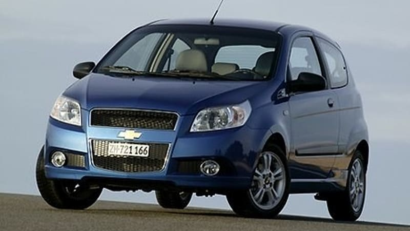 Geneva 2008 Preview Chevy Aveo Loses Two Doors Still Has The Same