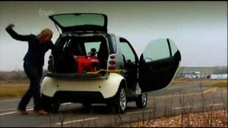 Video Fifth Gear Reviews Electric Smart Car Turns It Into Series Hybrid With Off The Shelf Generator