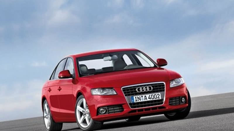 Audi A4 Hybrid S Before It Arrives In The U