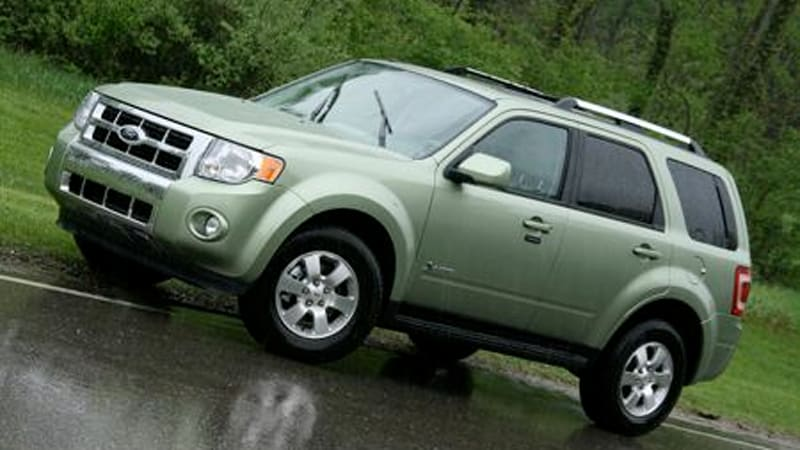 When We Visited With The 2008 Ford Escape Hybrid Last Year It Had Just Received A Whole New Look Went From Softer
