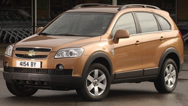 New Chevy Captiva Diesel CUV Gets 32.2mpg Combined!