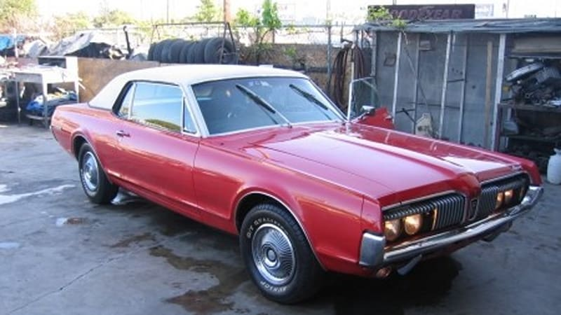 Craigslist Find of the Day: '67 Mercury Cougar with Mercedes diesel