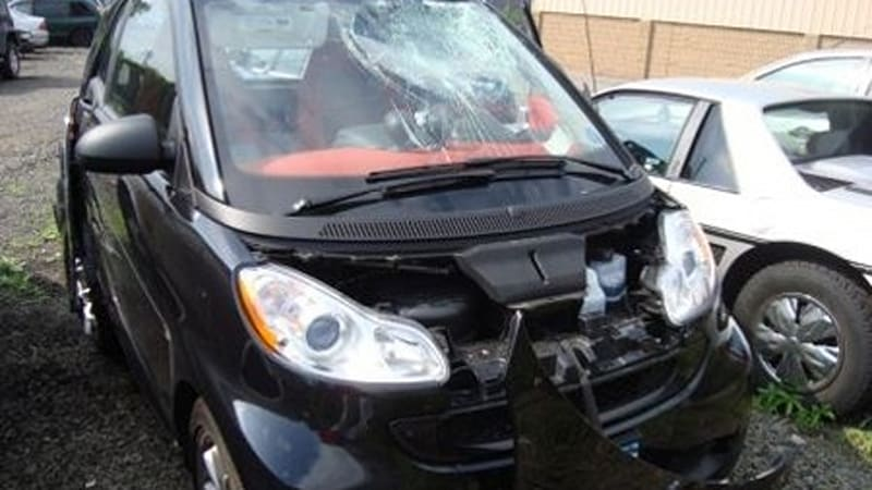 Smart Car Does Highway Sd Triple Roll Driver Unhed Seeks Orphan