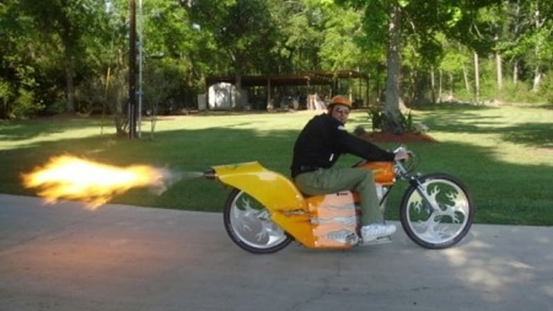 Ebay Find Of The Day Rocket Powered Electric Bike Autoblog