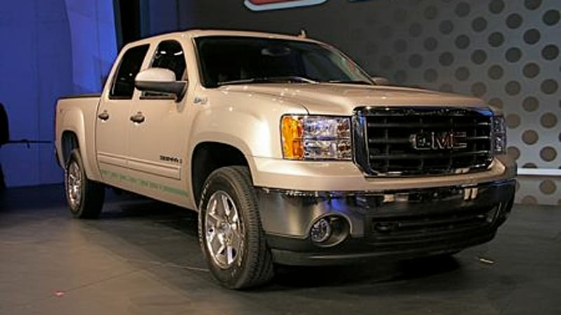 The Epa Has Posted Official Mileage Numbers For New Two Mode Hybrid Variants Of Chevy Silverado And Gmc Sierra Full Size Pickup Trucks