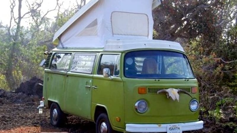 51f3a3f009 Stay under the stars in Hawaii in a recycled VW Bus - Autoblog