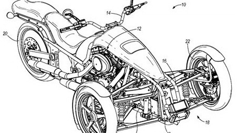 Harley Davidson Trike Getting Closer To Production