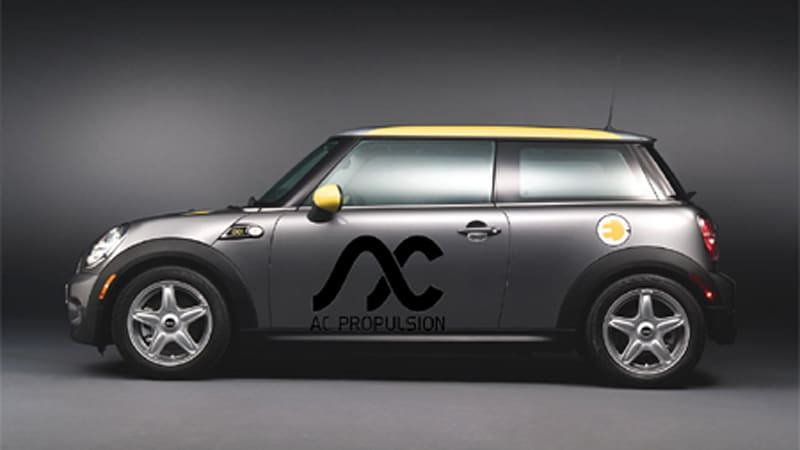 Mini E Gets It Guts From Ac Propulsion Not Tesla