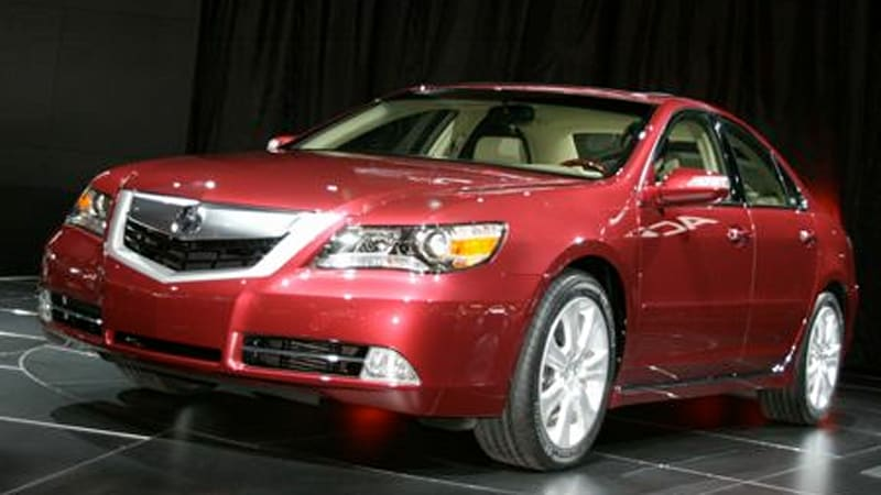 Next-next-gen Acura RL may finally get a V8 ... or not - Autoblog