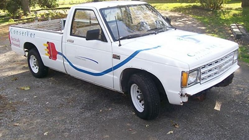 Ebay Find Of The Day Electric Chevrolet S10 Autoblog