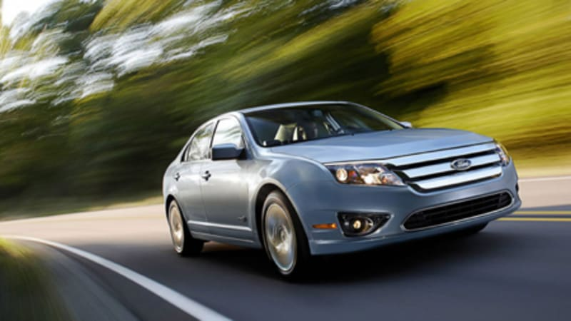 La 2008 2010 Ford Fusion Hybrid All The Details And Press Pictures Available