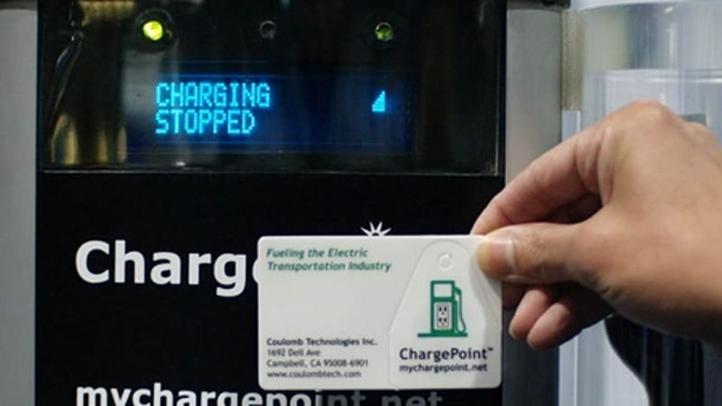 Edta 2008 This Is How Chargepoint S Public Electric Car Charging Station Will Work