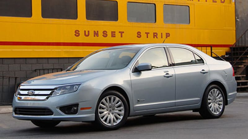 Ford Fusion Hybrid Officially Rated At 41 Mpg In The City