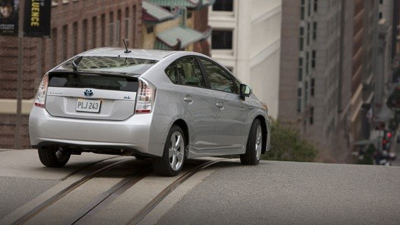 2010 Prius Detail Overload Will Get 49 Mpg Highway Rating 100 000 S Predicted For 2009
