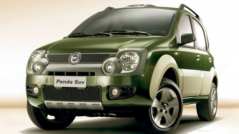 could jeep introduce new model based on fiat panda cross autoblog. Black Bedroom Furniture Sets. Home Design Ideas