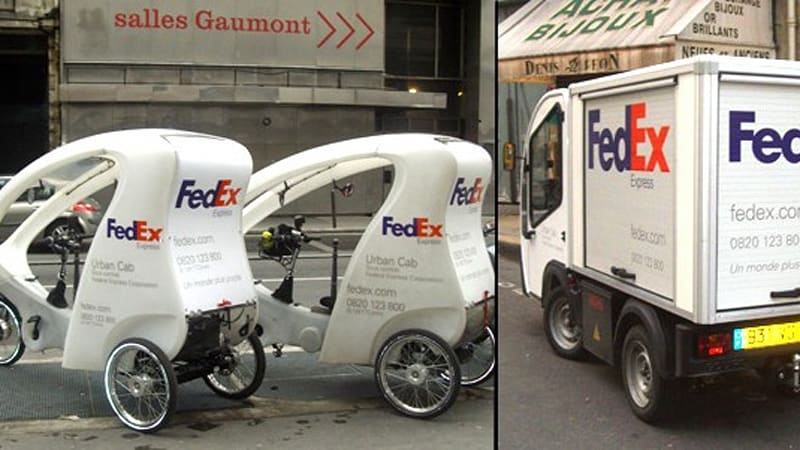 Fed Ex Adding Small Electric Vehicles To Paris Fleet