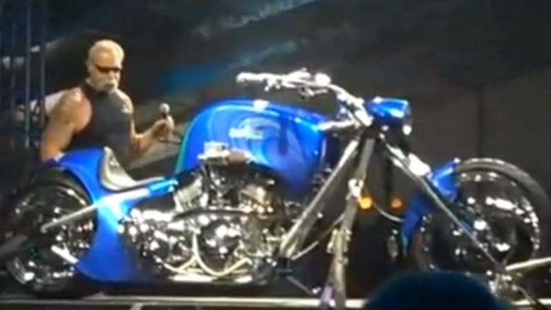 VIDEO: Orange County Choppers Builds Custom Motorcycle