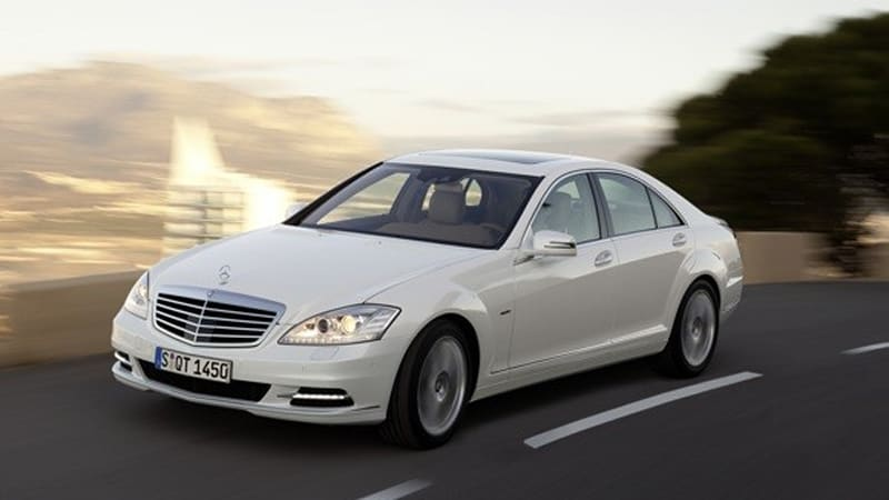 Mercedes Benz S 400 Hybrid 30 Mpg And 47 Pounds Of Recycled Goodness