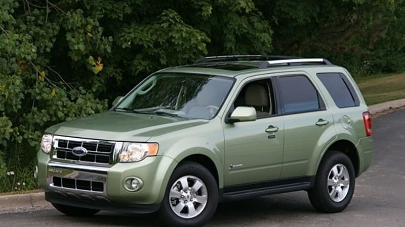 2010 Ford Escape Hybrid Gets Upgraded Battery And