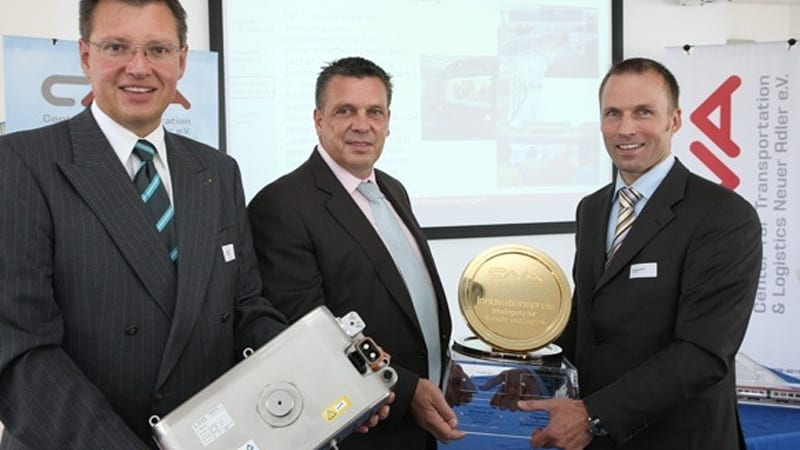 Continental gets innovation prize for its new production