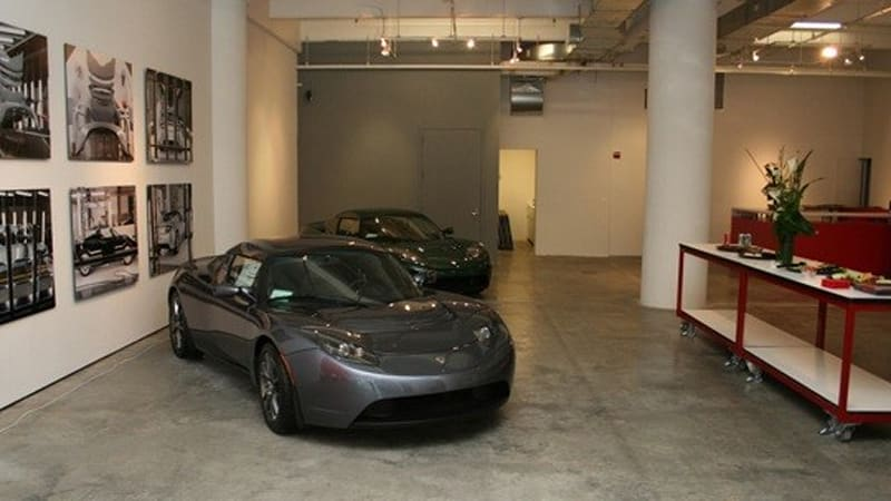 Fresh From Nyc Pictures Of Tesla Motors 39 S New Store Autoblog