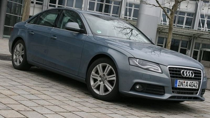 Frankfurt 2009 Audi A4 And A4 Avant Go Biofuel In Germany Autoblog