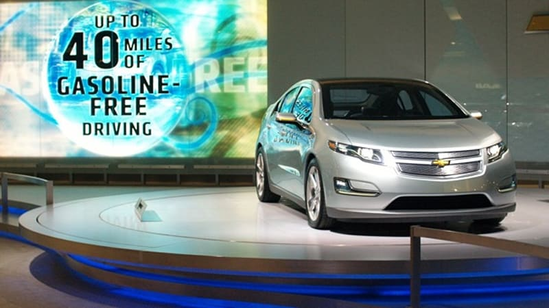 Chevy Volt Will Move Without Gas In The Tank