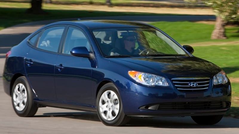2010 Hyundai Elantra Blue Improves Fuel Efficiency To 35 Mpg, Starts At  $14,145   Autoblog