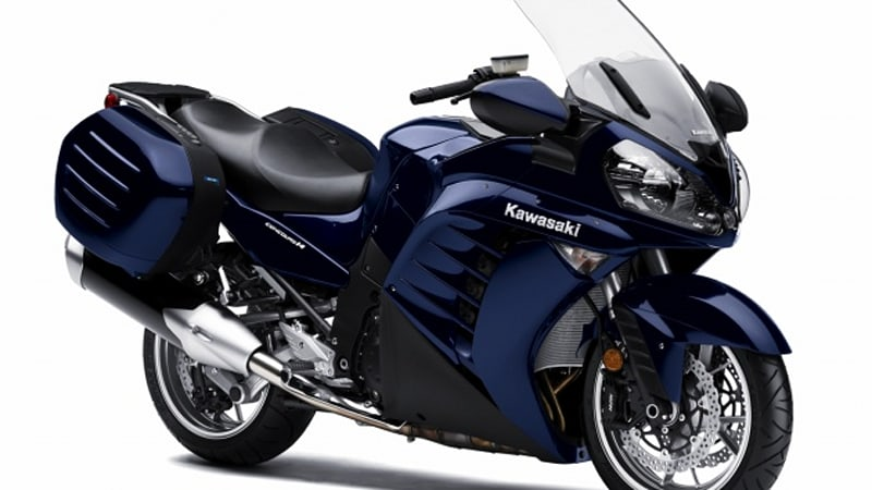 2010 Kawasaki Concours 14 includes Fuel Economy Assistance