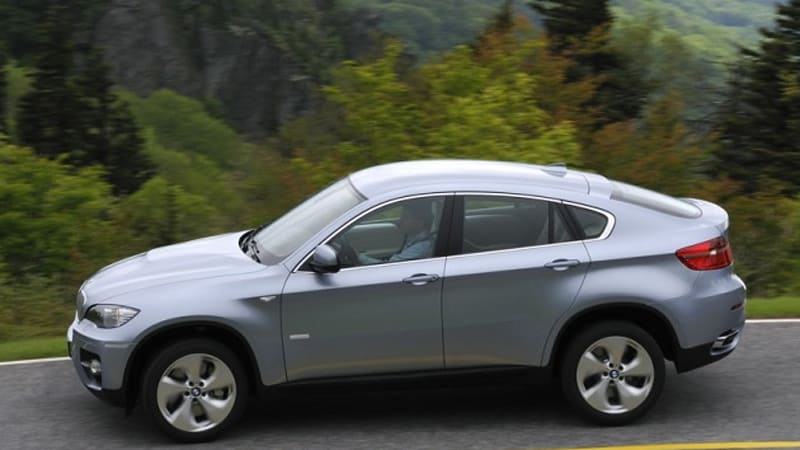 Bmw X6 And Honda Crosstour The Shape Of Things To Come Autoblog