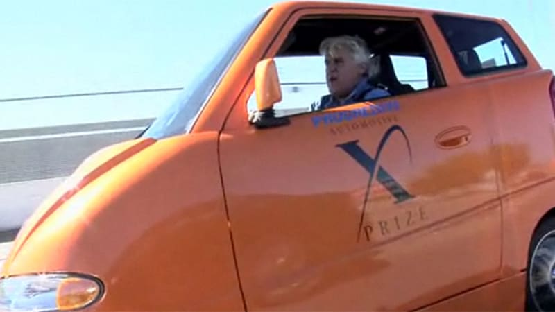Video Jay Leno Does The Electric Tango