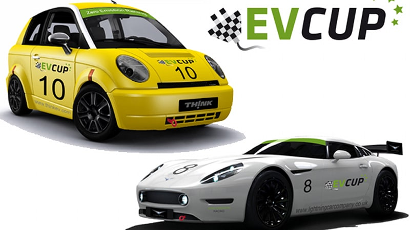 EV Cup electric car racing series to light up tires in 2011
