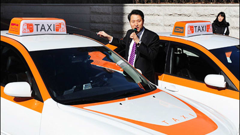 Ten Lpg Electric Hybrid Taxis Start Work In Seoul Korea Autoblog
