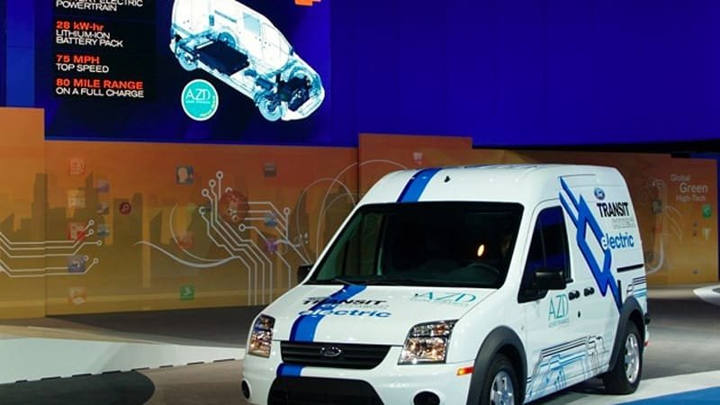Ford Azure Dynamics Will Expand Transit Connect Electric To Europe