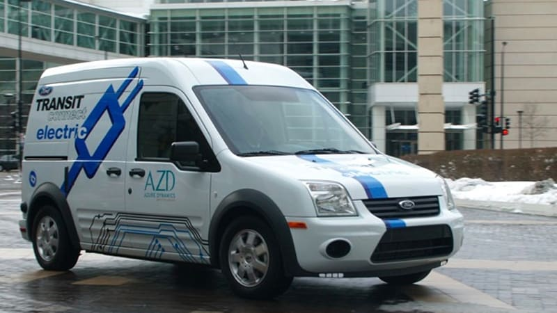 Ford Transit Connect Electric Goes To Canada