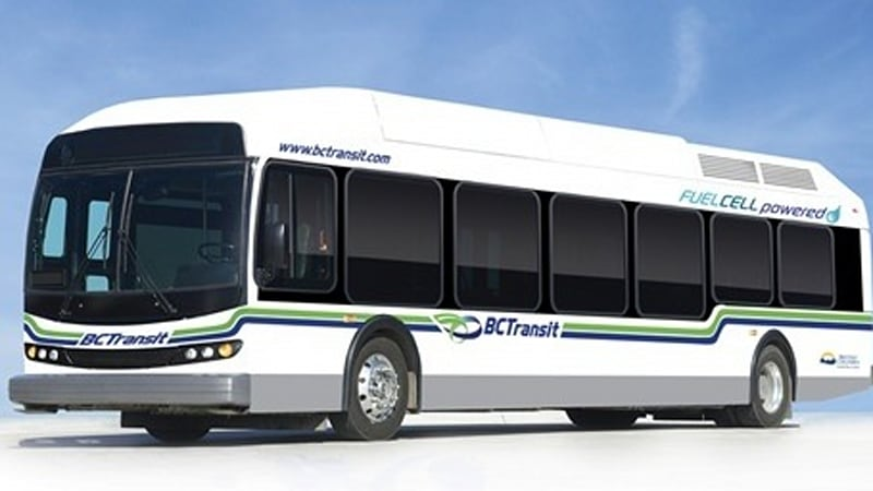 Thousand Oaks, CA to get two Ballard-powered fuel cell buses - Autoblog