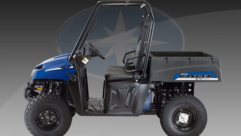 Electric Polaris Ranger ATV brings new meaning to