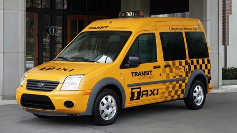 California Yellow Cab orders up 25 CNG-powered Ford Transit Connect