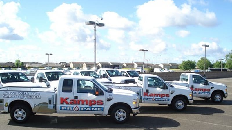 Strickland Propane Would Be The Obvious Choice But Manteca Ca Based Kamps Is Curly Gest Operator Of Ford Trucks