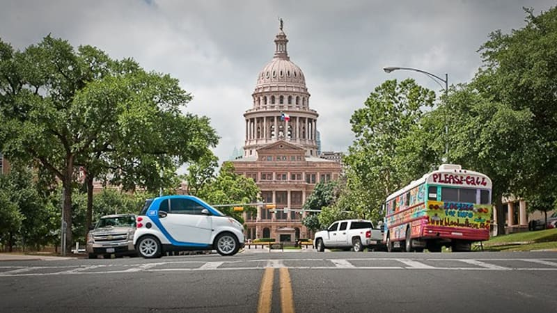 Car2go Car Sharing Program Opens To The Public In Austin Tx Autoblog