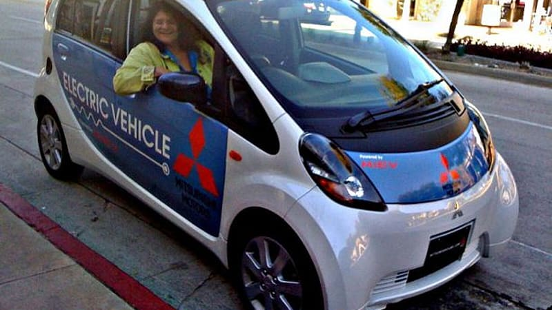 More range anxiety with the Mitsubishi iMiEV - Autoblog