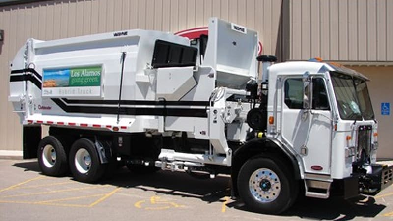 Los Alamos County Takes Delivery Of New Mexico S First Hydraulic Hybrid Garbage Truck