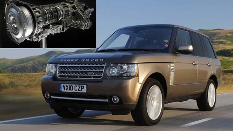 2011 Range Rover TDV8 gets new ZF 8-speed automatic, but not in