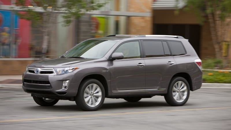 Nice 2011 Toyota Highlander Hybrid Gets A Makeover; Now Rated At 28 Mpg    Autoblog